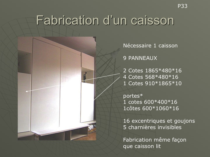 bricolage fabriquer un lit escamotable conseils des bricoleurs du forum. Black Bedroom Furniture Sets. Home Design Ideas