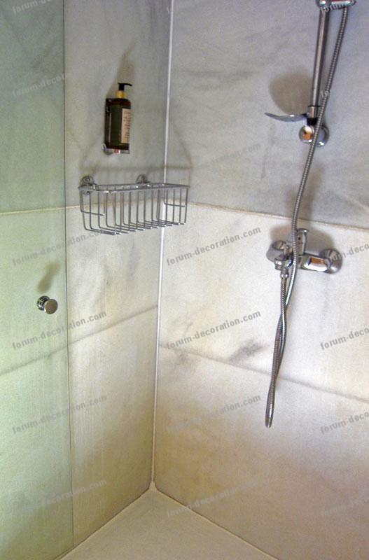 Cabine de douche salle de bains