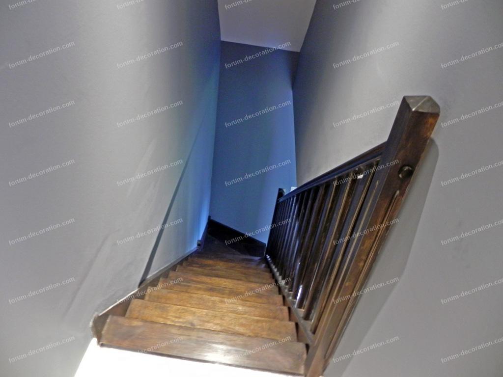décoration couleur peinture escalier