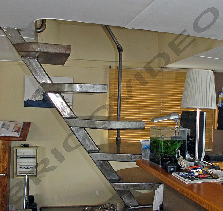escalier bateau