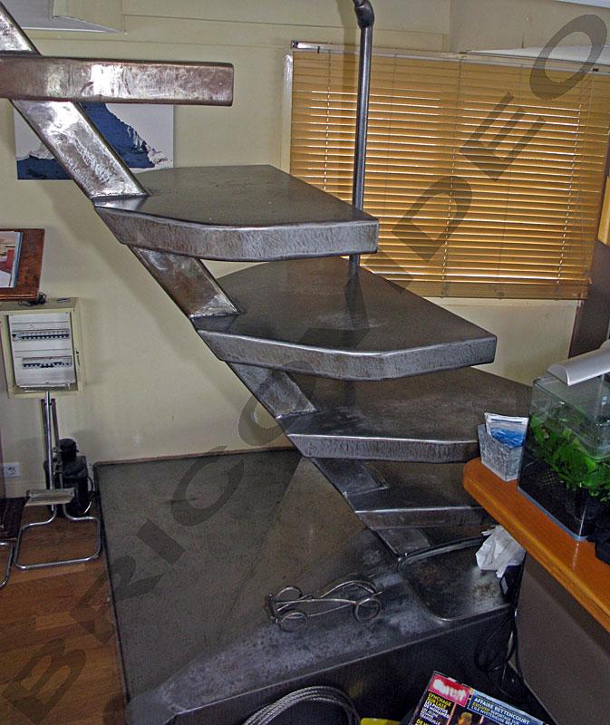 escalier metallique
