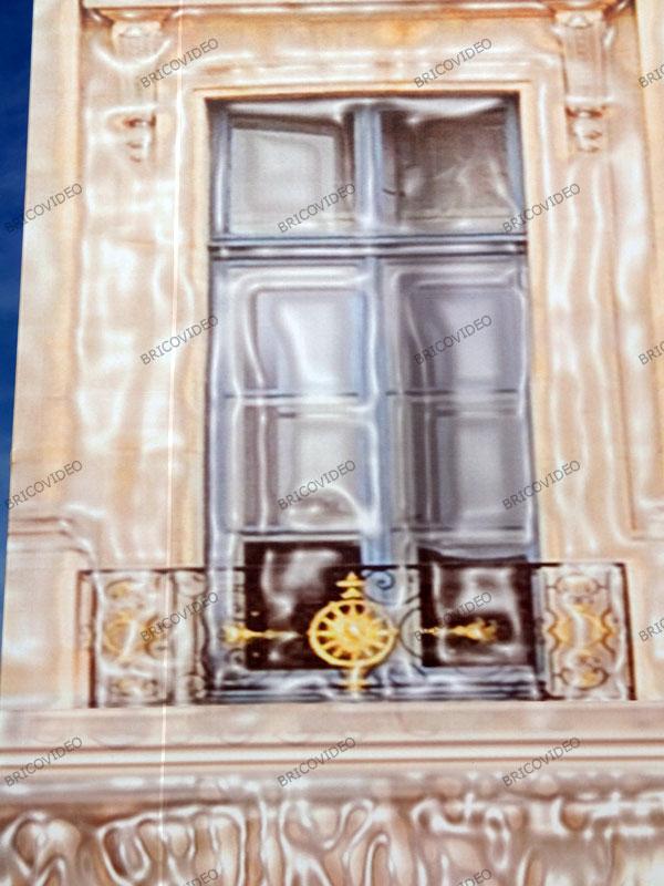 fresque décorative trompe-l'œil  - Photo Patrice Faro