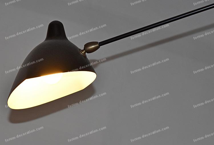 lampadaire d'intérieur Serge Mouille