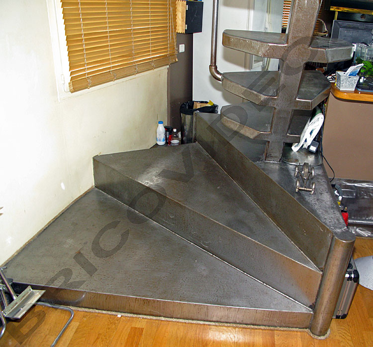 deco marche escalier interesting ides dco pour un grand. Black Bedroom Furniture Sets. Home Design Ideas