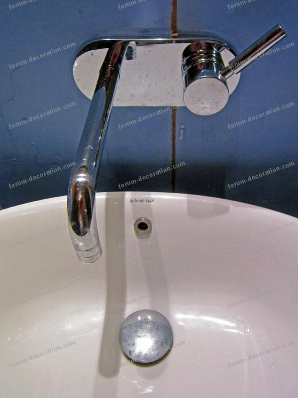 robinetterie design salle de bains