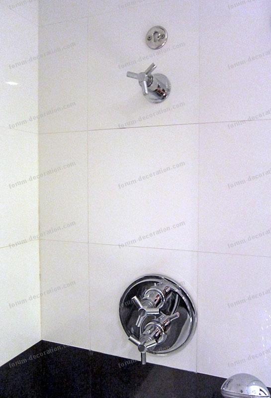 robinetterie douche salle de bains
