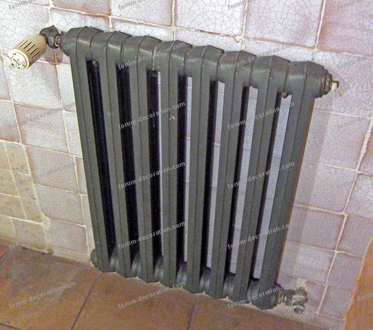 salle de bains radiateur