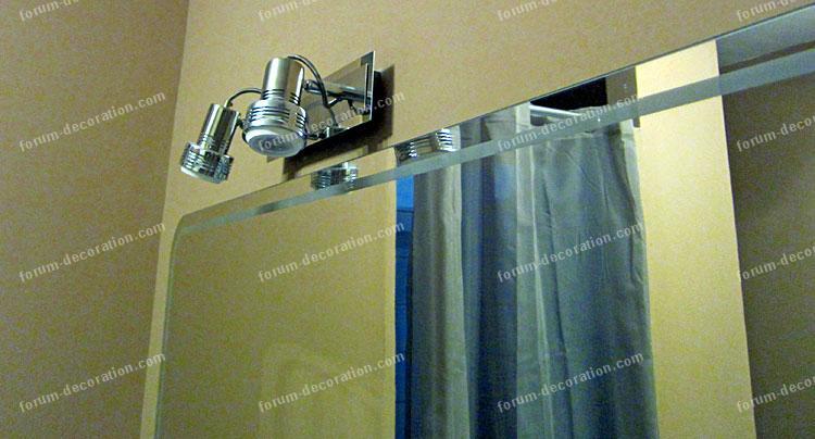 spots éclairage salle de bains