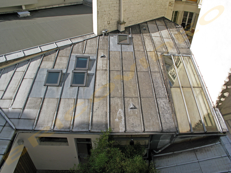 velux toiture zinc