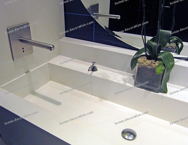vasque rectangulaire salle de bains